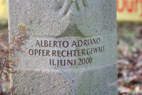 Gedenken an Alberto Adriano - 03 by Björn Klietzmann @flickr.com (CC BY-NC-ND 2.0)